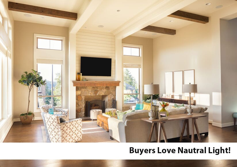 Home Staging Tip: Buyers Love Natural Light