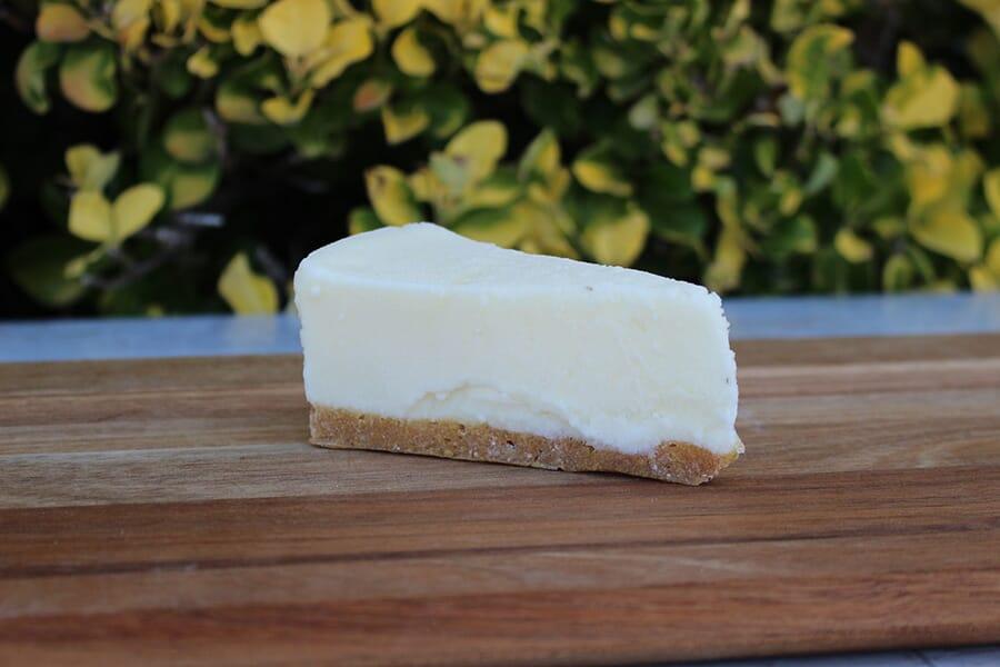 Fake Slice of Cheesecake