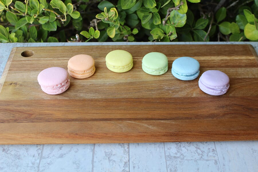 Artificial Small Macarons in Assorted Colors (Set of 6)