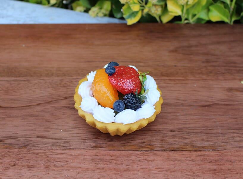 Fake Mini Mixed Fruit Tart