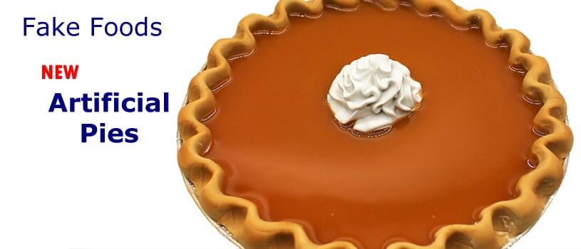 Fake Pies - Faux Pies - Artificial Pies for display by Props America