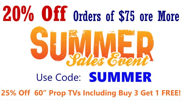 20% Off Your Order OF $75 OR MORE Use Coupon Code SUMMER