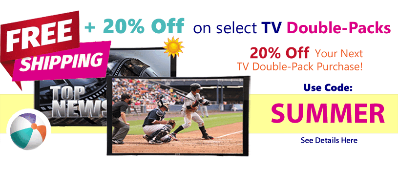 20% Off Your order today USE CODE: SUMMER - Free Shipping on Fake TV Props for Home staging at Props America