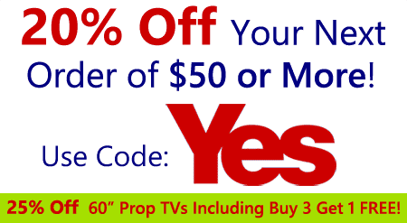 20% Off Your Order OF $50 OR MORE Use Coupon Code YES